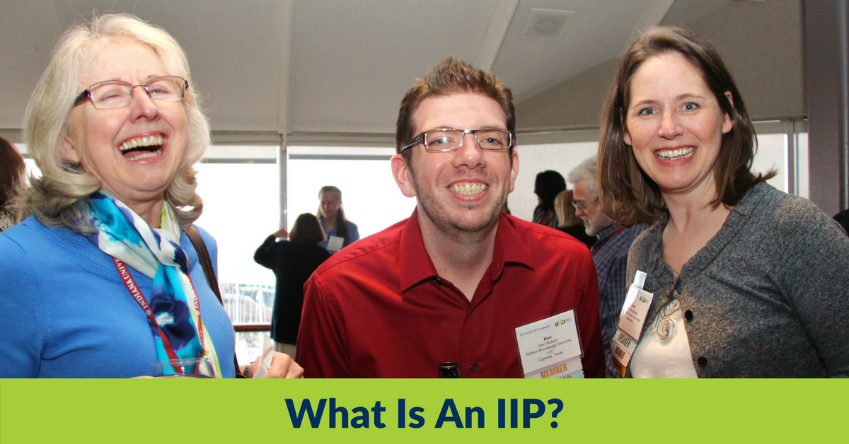 What is an Independent Information Professional or IIP